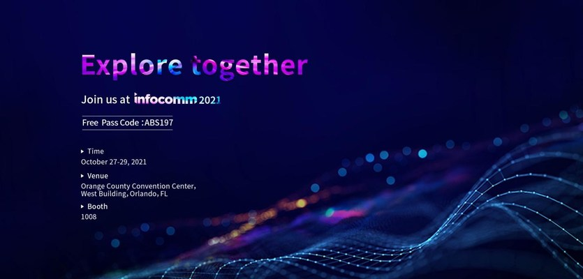 Absen presentará las últimas soluciones de pantallas LED en InfoComm 2021
