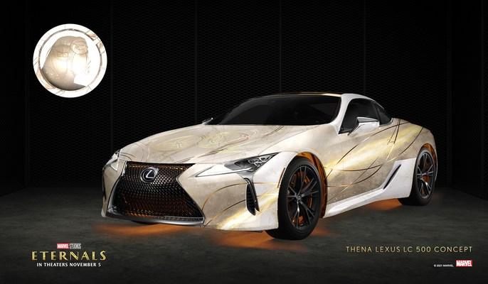 Lexus presenta los vehículos