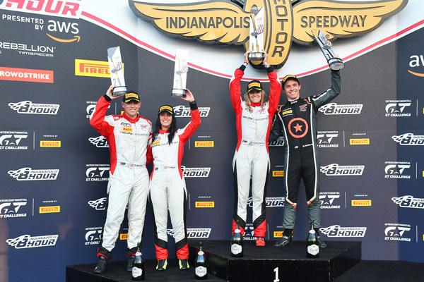 Dobles victorias y un triunfo histórico para los pilotos de Acura en la carrera de resistencia de Indianápolis