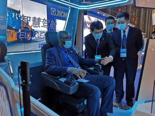 XCMG muestra las soluciones de transporte sostenibles de China en la UN Conference
