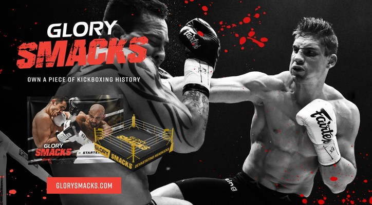GLORY Kickboxing se asocia con Fandem para lanzar GLORY Smacks