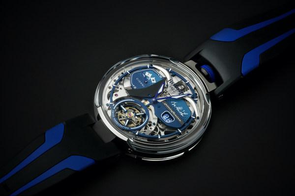 Automobili Pininfarina y BOVET 1822 presentan el nuevo reloj Battista Tourbillon
