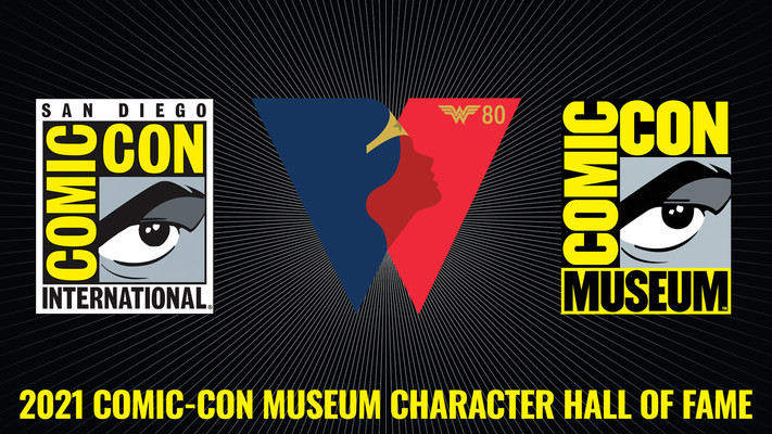 Join Fans From Around The World As Wonder Woman Is Inducted Into The Comic-Con Museum Character Hall Of Fame