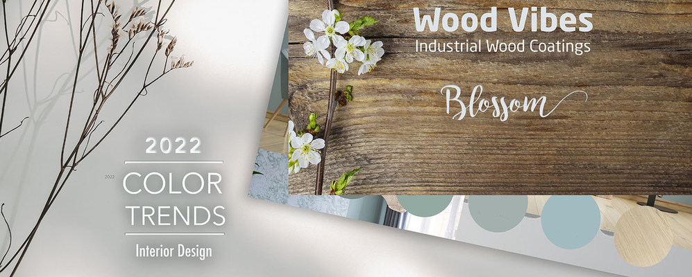 Axalta introduces annual wood color collection, Wood Vibes: Blossom