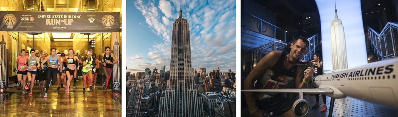 La Carrera Vertical del Empire State Building, patrocinada por Turkish Airlines y organizada por Challenged Athletes Foundation regresa el 26 de octubre