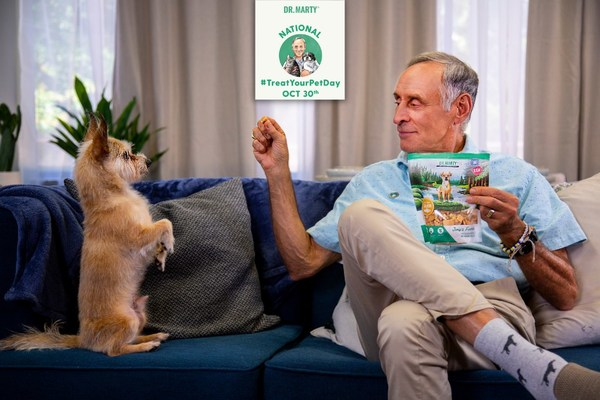 Dr. Marty Pets™ Announces National Treat Your Pet Day