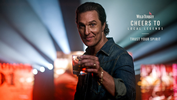 Matthew McConaughey and Wild Turkey® Honor Local Music Scenes Through Annual Give Back Campaign