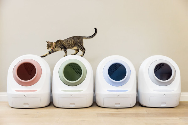 Smarty Pear Launches First-Ever App-Connected Self-Cleaning Litter Box with Alexa and Google Voice Controls
