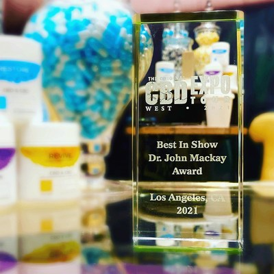 Impact Naturals Takes Top Prize at CBD Expo West