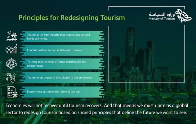 Líderes se reúnen en Riad para rediseñar el futuro del turismo
