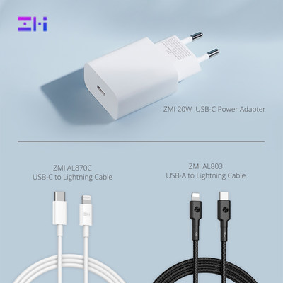 ZMI lanza los accesorios de carga rápida para la serie iPhone 13