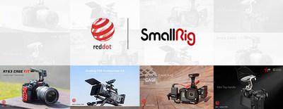 Cuatro productos de SmallRig ganan el Red Dot Design Award 2021