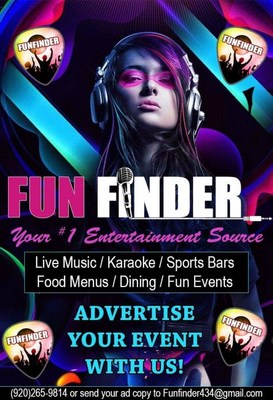 Discovering Fun Just a Few Swipes Away - Free New Funfinder App Offers Access to the Best Dining, Clubs, and Other Activities for Northeastern Wisconsin