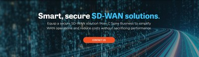 C Spire introduces smart, secure software defined wide area network solution for business