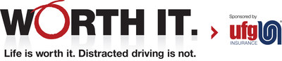 UFG Insurance launches interactive Worth It infographic, honors Distracted Driving Awareness Month