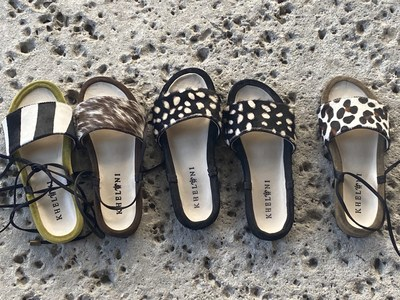 Kheloni Launches New Luxury Greek Sandals Collection