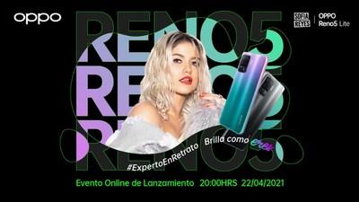 OPPO presentará primer smartphone de la Serie Reno de la mano de Sofía Reyes