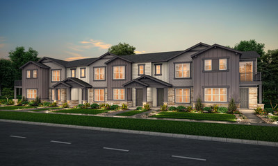 New Model Townhome Opening April 2021 in Erie, CO