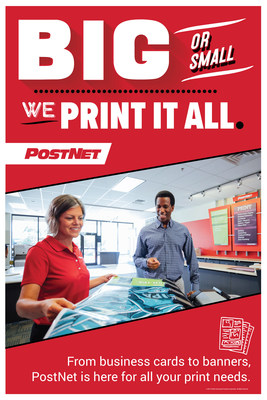 PostNet helps businesses grow through high-quality printed materials