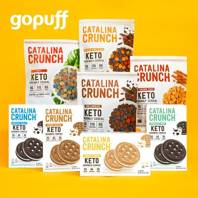 Catalina Snacks® and Gopuff Partner to Deliver Keto-Friendly Cereals to Customers in Minutes