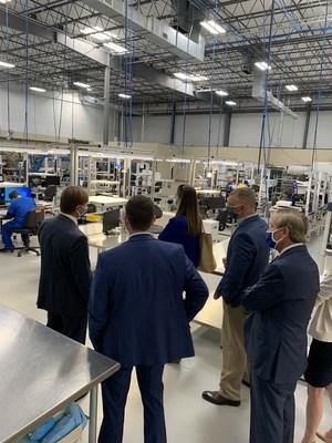 Senator Tim Scott's Senior Staff Visits SC's First COVID-19 Testing Lab at One Year Mark