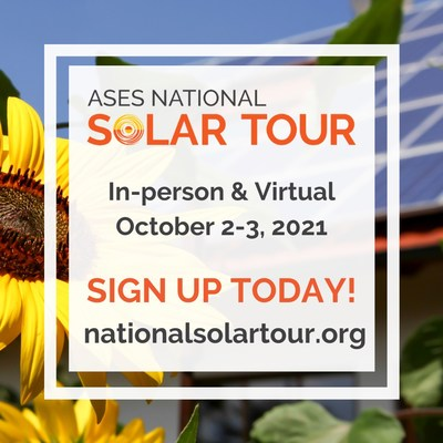 ASES National Solar Tour Coming Soon to a Neighborhood Near You