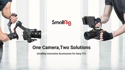 SmallRig lanza innovadores accesorios para Sony FX3