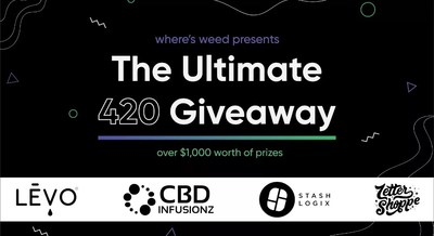 Where's Weed Announces the Ultimate 420 Giveaway
