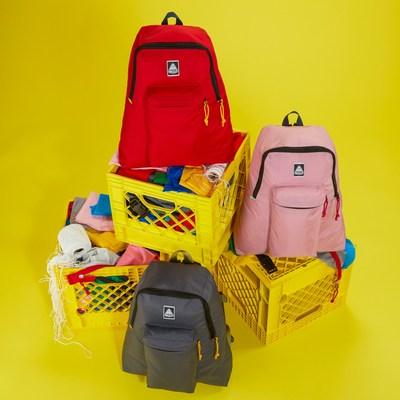 JanSport Launches Backpack Line Made with 100% Surplus Materials