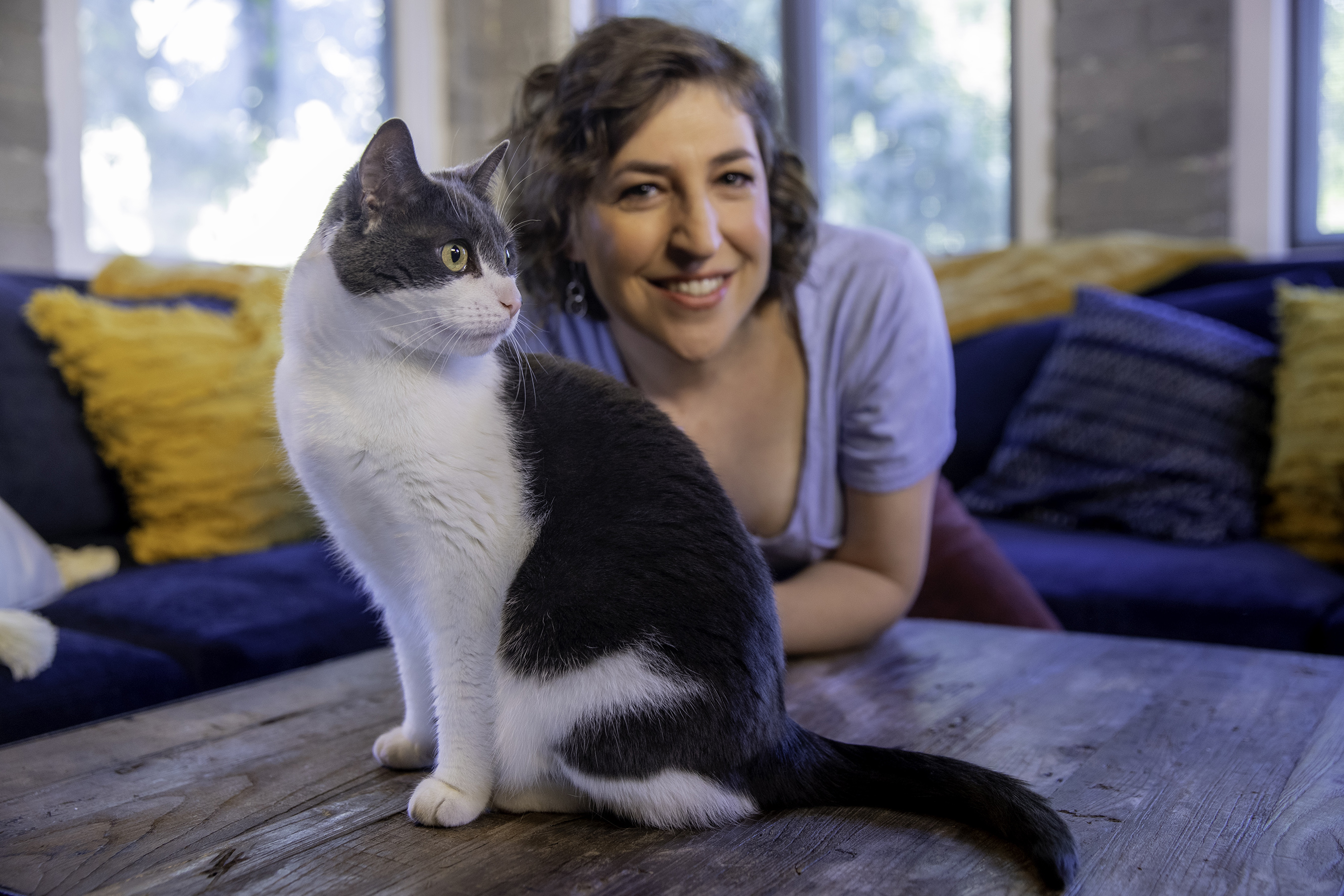 Sensitive to Cat Allergens? Take The LiveClear Challenge with Purina Pro Plan and Mayim Bialik