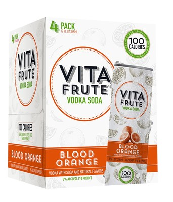 Vita Frute introduces original mix 12-pack and new Blood Orange flavor for the spring