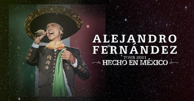 Alejandro Fernández anuncia su gira de otoño por Estados Unidos