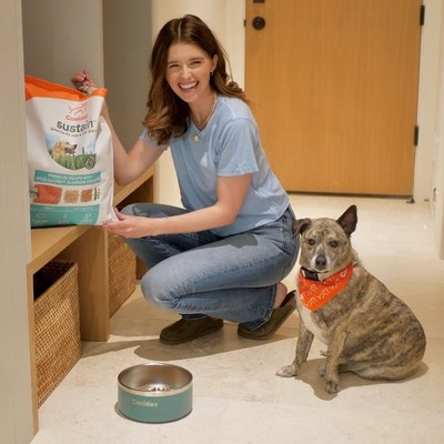 Katherine Schwarzenegger Pratt Partners with Canidae Premium Pet Food for Launch of New Sustain The Goodness Campaign and Product Line
