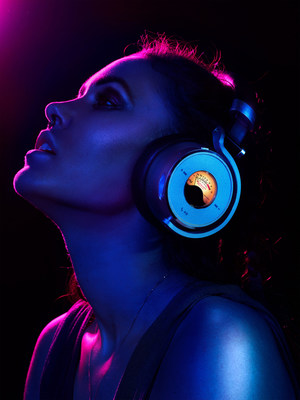 Fashion-Forward Design Makes the New Meters Music OVB-1 Connect Studio Quality Headphones Stand Out in Any Crowd!