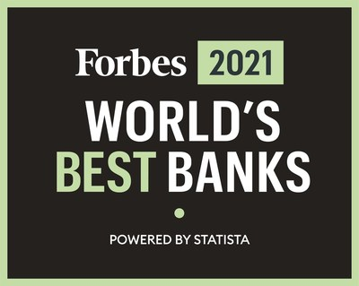 Simmons Bank Named Among 'World's Best' by Forbes for Second Year