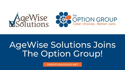 The Option Group Acquires AgeWise Solutions and Expands its Reach into Delaware