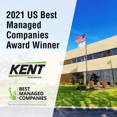 Kent Corporation Recognized as a US Best Managed Company