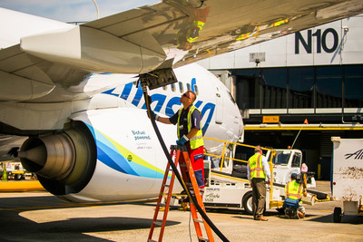 Alaska Airlines and SkyNRG sign partnership to advance sustainable aviation fuel made from municipal solid waste