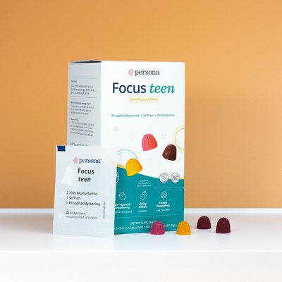Persona Launches New Gummy Vitamin Packs for the Entire Family
