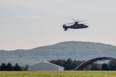 Sikorsky S-97 RAIDER Demonstrates Agility at the X During Future Vertical Lift Flight Demonstrations at Redstone Arsenal