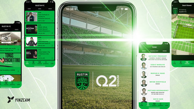 Austin FC And Q2 Stadium Launch New Mobile App Developed By Industry Leader YinzCam