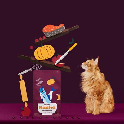 Now Exclusively Available At PetSmart: Nacho Flay's Premium Cat-Crafted Cat Food, Made By Nacho