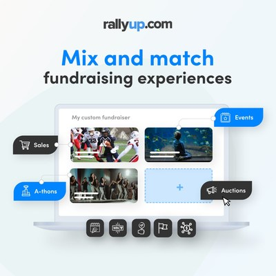 RallyUp Releases Major New Version of Its Virtual Fundraising Platform