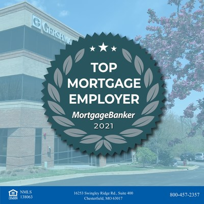 Mortgage Banker's Magazine Names Gershman Mortgage as a 2021 Top Mortgage Employer