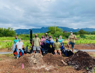 Sustainable Farming Innovator Solectrac Delivers E-Tractor to First Hawaii Customer, Kim and Jack Johnson's Environmental Education Nonprofit, K?kua Hawai?i Foundation