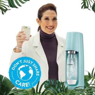 SodaStream anuncia ambiciosos objetivos sostenibles en honor al Día de la Tierra