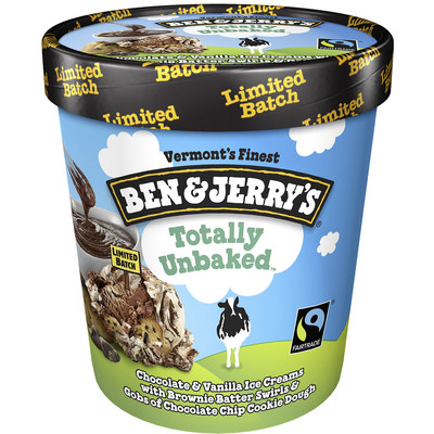 Ben & Jerry's Omits the Oven with TOTALLY UNBAKED