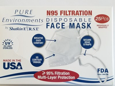 Made in USA N95 For Consumer Safety