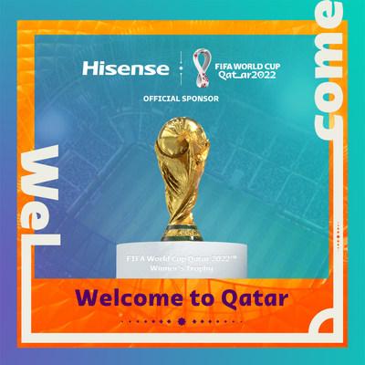 Hisense se convierte en patrocinador oficial de la Copa Mundial de la FIFA Catar 2022™