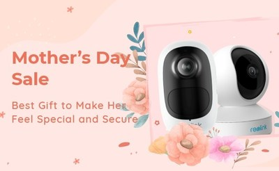 Reolink's Mother's Day Sale: Save Up to 26% Off Select Security Cameras to Bring Mom Peace of Mind